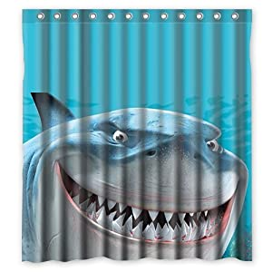 Shower Curtain New Waterproof Polyester Fabric Shower Curtain Custom Sea Creature