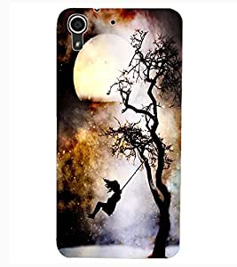 ColourCraft Scary Night Design Back Case Cover for HTC DESIRE 626s