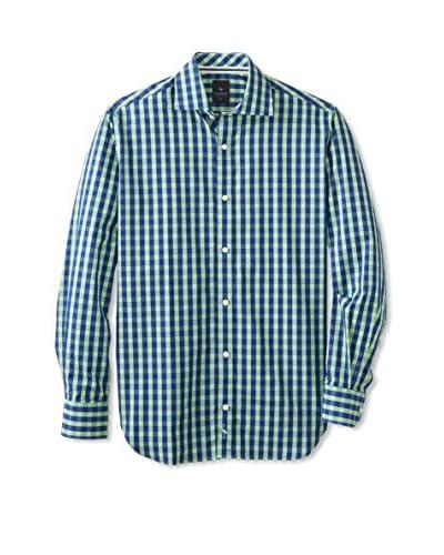 TailorByrd Men's Cameron Gingham Long Sleeve Shirt