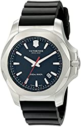 Victorinox Men's 241682.1 I.N.O.X. Analog Display Swiss Quartz Black Watch