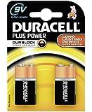 Duracell Plus Power Batterie 9V (MN1604/6LF22) 2er