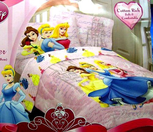 Disney Princess Dear Diary Twin Comforter