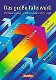 Image de Das große Tafelwerk - Westliche Bundesländer: Mathematik, Physik, Chemie, Astronomie, Informatik,
