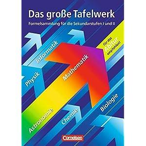Das große Tafelwerk - Westliche Bundesländer: Mathematik, Physik, Chemie, Astronomie, In