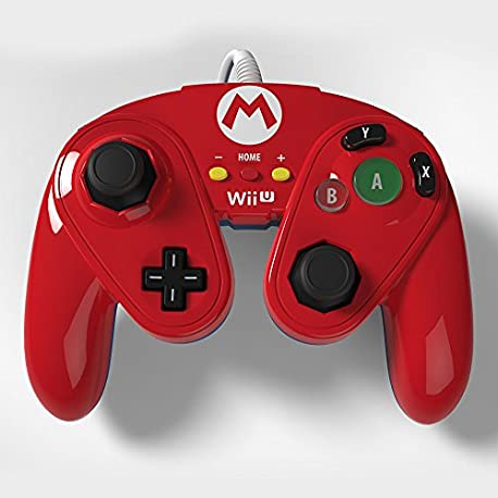 Wired Fight Pad - Mario
