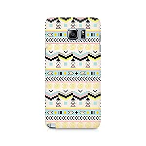TAZindia Printed Hard Back Case Cover For Samsung Galaxy Note 5