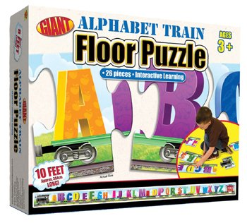 Cheap Frank Schaffer ALPHABET TRAIN PUZZLE AGES 3-6 (B001JTL9DI)