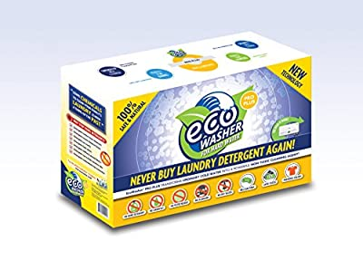 ecoInventions EcoWasher Plus, 100% Eco Friendly detergent free laundry system