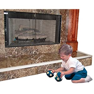 Image: Kidkusion Hearth Kushion | Attaches securely with enclosed Velcro(r)