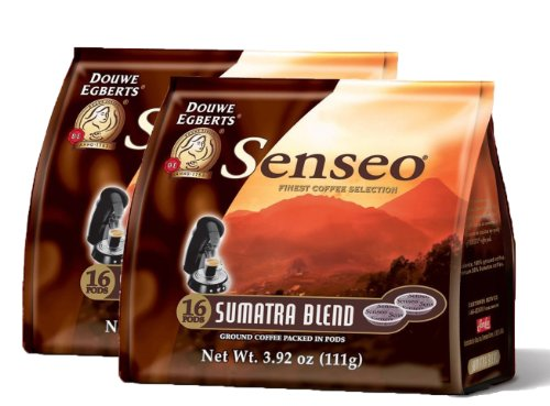 Senseo Sumatra Blend Coffee Pods - (Pack Of 2) front-63916
