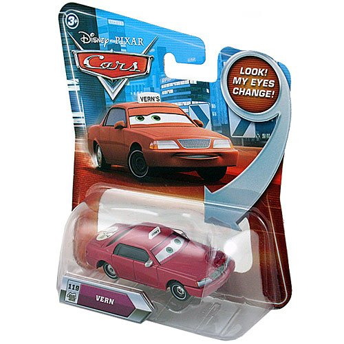 Disney Pixar Cars Die Cast Lenticular Eyes [Vern No.119]