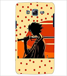 PrintDhaba Sword Girl D-5087 Back Case Cover for SAMSUNG GALAXY ON 7 (Multi-Coloured)