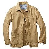 (エディー・バウアー) Eddie Bauer メンズ ジャケット コットン ストレッチ スラブ カバーオール カバオール シャツジャケット(サドル XS)