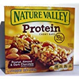 Nature Valley Protein Bar, Peanut, Almond & Dark Chocolate, 7.1 Oz. 5 Bars Ea. (Pack Of 5)