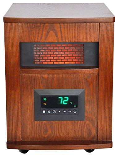 Lifesmart Pro 6 Element Large Room Infrared Quartz Heater