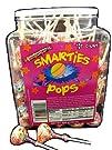 Smarties Pops 120 Piece Jar
