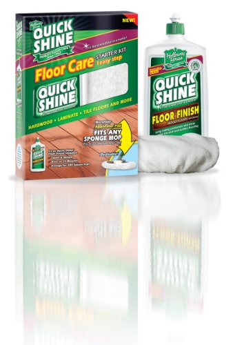 Quick Shine Starter Kit Contains One 16 Ounce Floor Finish