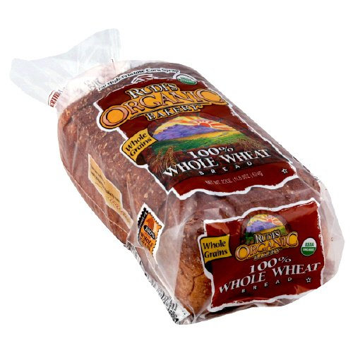 Rudi's Organic Bakery 100% Whole Wheat Bread 22 Oz 3 Packs (031493021609)