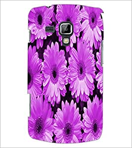 PrintDhaba Flower D-3888 Back Case Cover for SAMSUNG GALAXY S DUOS 2 S7582 (Multi-Coloured)