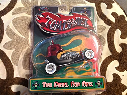 "Tom Daniels Iron Legends Rad Ratz Diecast Cars - ""Bad Medicine"" Replica - Scale 1:43 (Black) - 1"