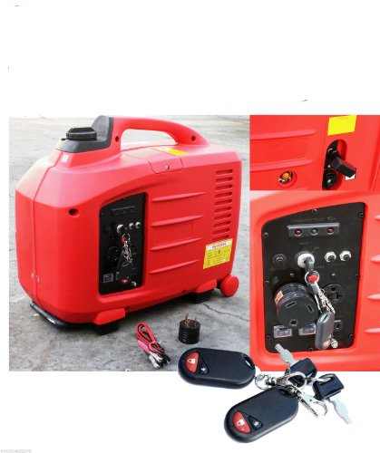 Portable 2700 Watts Remote Key Start Digital Inverter RV Gas Generator w/ Epa & Carb Approved