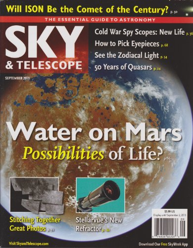 Sky & Telescope Magazine September 2013
