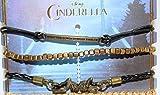 Disney Cinderella Arm Party Exclusive HT Collection Charm 5 Pk Bracelet Set