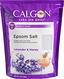 Calgon Rejuvenating Epsom Salt (Lavender and Honey, 48-Ounce)