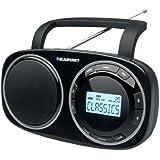 Blaupunkt BSD 9000 Radio Digitale PLL de Table FM(RDS) MW/LW/SW Noir