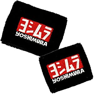 Yoshimura Brake/Clutch Reservoir Sock Cover Set Available in Black and White. Fits Honda CBR 600rr 1500rr, Suzuki GSXR 600 750 1500, Yamaha R1 R6 R6s, Kawasaki ZX6R ZX9R ZX15R ZX12R