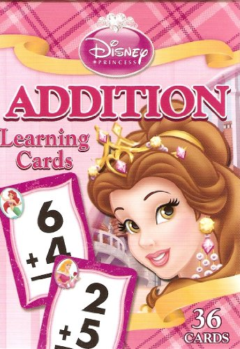 Disney Princess Addition Learning/Flash Cards (Lite Pink Box) - 1