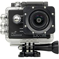 SJCAM SJ5000X Elite 4K 24 fps Sony IMX078 Waterproof WiFi Action Helmet Camera BLACK