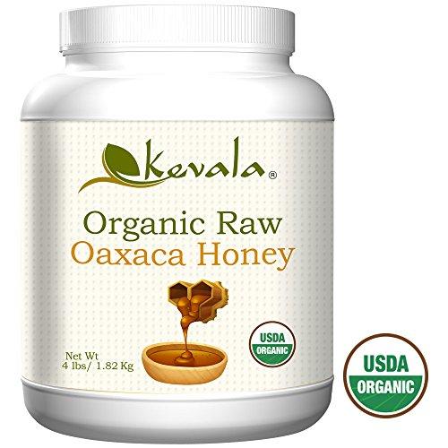 Kevala Organic Raw Oaxaca Honey 4 Lbs