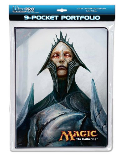 Utra Pro The Magic the Gathering (MTG) - (Future Sight Gaming Supplies) Magus of the Future / Maelstrom Djinn - Combo Portfolio Album (9 Pocket Trading Card Binder)