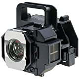 V13H010L49 / ELPLP49 - Lamp With Housing For Epson Powerlite Home Cinema 6100, 6500, 8100, 8350, Pro Cinema 9100, 9350, 9500, 9700, EH-TW2800, EH-TW2900, EH-TW3000, EH-TW3200, EH-TW3500, EH-TW3600, EH-TW4400, EH-TW4500, EH-TW5000, EH-TW5500, EH-TW5800 Projectors