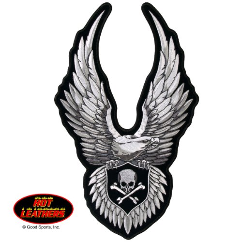 Hot Leathers Upwing Eagle and Skull Patch 3