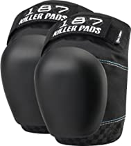 187 Pro Derby Knee Pads L-Black/Black
