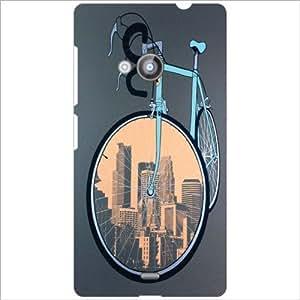 Nokia Lumia 535 Back Cover - Cycle Designer Cases