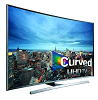 Samsung UN50JU7500 Curved 50-Inch 4K Ultra HD 3D Smart LED TV (2015 Model) from Samsung