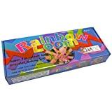 Rainbow Loom Make Your Own Bracelet Kit - Rubber Bands, Twist, Rainbow, Scoobies by H Grossman Ltd