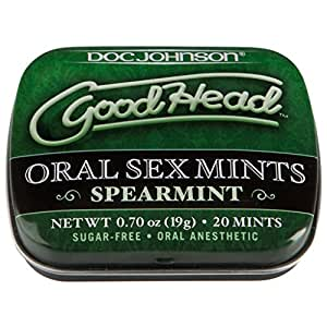 Doc Johnson Novelties Doc Johnson Novelties Good Head Oral Mints Spearmints Multicolor