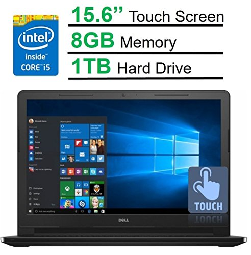 2017 Newest Dell Inspiron 15.6 inch Touchscreen HD Premium Laptop, Intel Core i5-5200U Processor 2.2GHz, 8GB RAM, 1TB HDD, HDMI, Bluetooth, DVD-RW, 802.11ac, HD Webcam, Windows 10 -MaxxAudio (Windows 8 I5 Laptop compare prices)