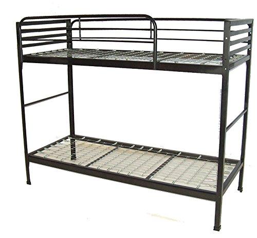 Black Metal Bunk Beds 9951 front