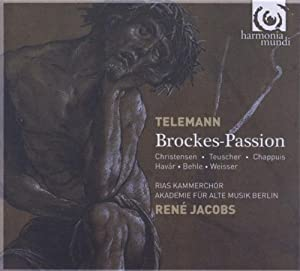 TELEMANN. Brockes Passion. AAM Berlin/Jacobs