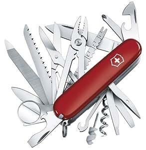 Victorinox Swiss Army Swiss Champ Pocket Knife (Red)