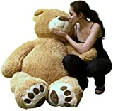 Big Plush Premium Giant Teddy Bear 5 Feet Tall Soft, Weighs 16 Pounds in Big Box, Not Vacuum Packed