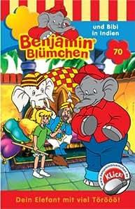 Benjamin Bluemchen - Folge 70: Benjamin und Bibi In Indien [Musikkassette] [Musikkassette]