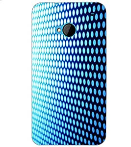 HTC ONE M7 PATTERN Back Cover by PRINTSWAG