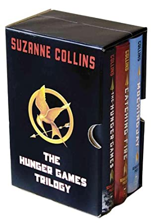 book cover of   Hunger Games Trilogy  Box Set