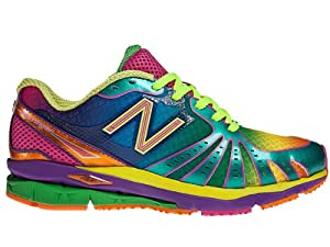 New Balance Women's WR890 Running Shoe,Rainbow,6.5 B US